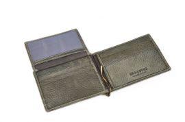 Celokožená pánská peněženka / dolarovka BHPC Tucson BH-398-23 antracitová Beverly Hills E-batoh