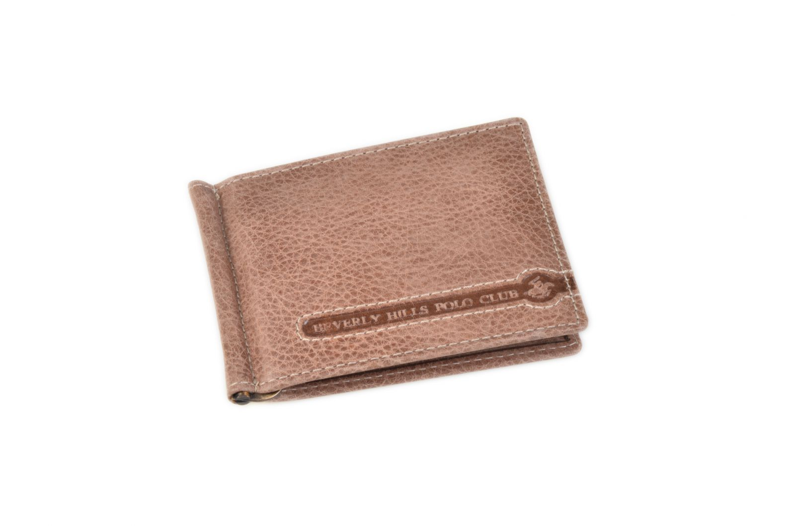 Celokožená pánská peněženka / dolarovka BHPC Tucson BH-398-25 hnědá