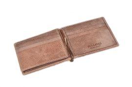Celokožená pánská peněženka / dolarovka BHPC Tucson BH-398-25 hnědá Beverly Hills E-batoh