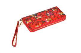 Dámská peněženka T646 Sovička červená