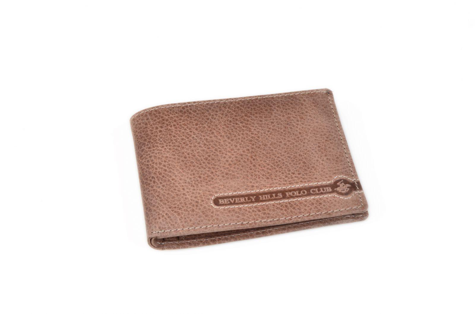 Peněženka pánská BHPC Tucson BH-391-25 hnědá v krabičce