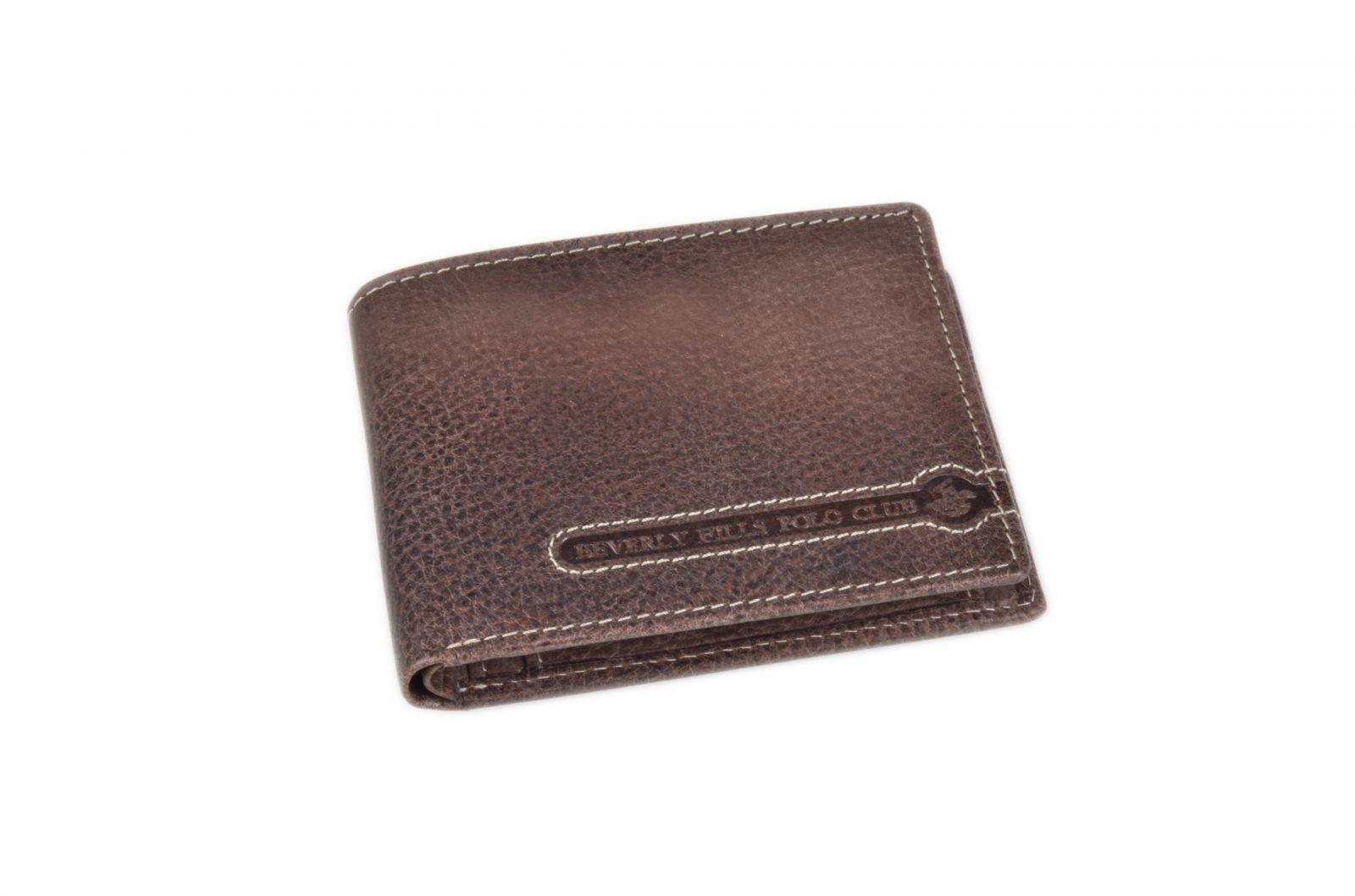Peněženka pánská BHPC Tucson BH-392-75 tabáková v krabičce