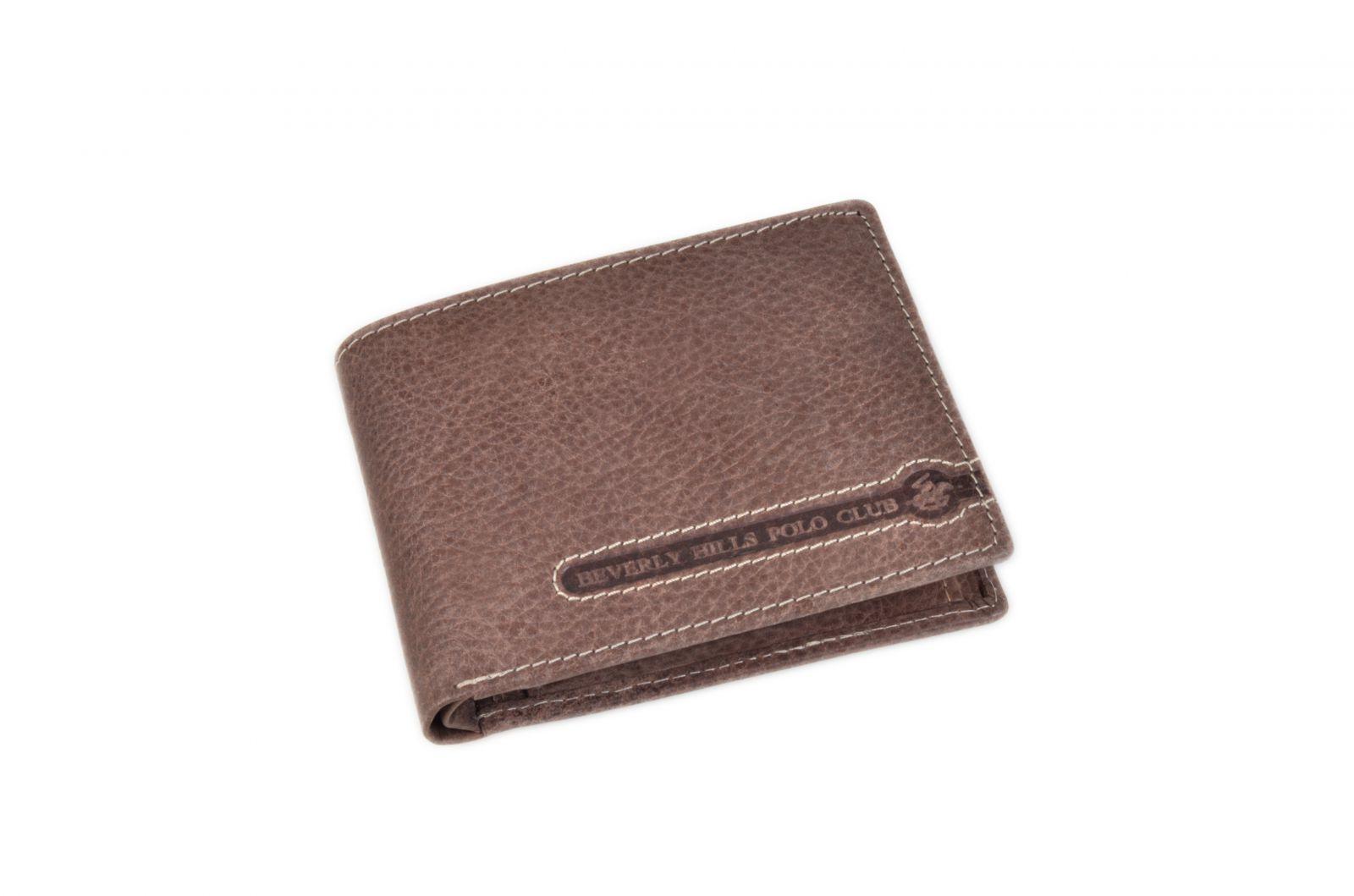Peněženka pánská BHPC Tucson BH-393-75 tabáková v krabičce