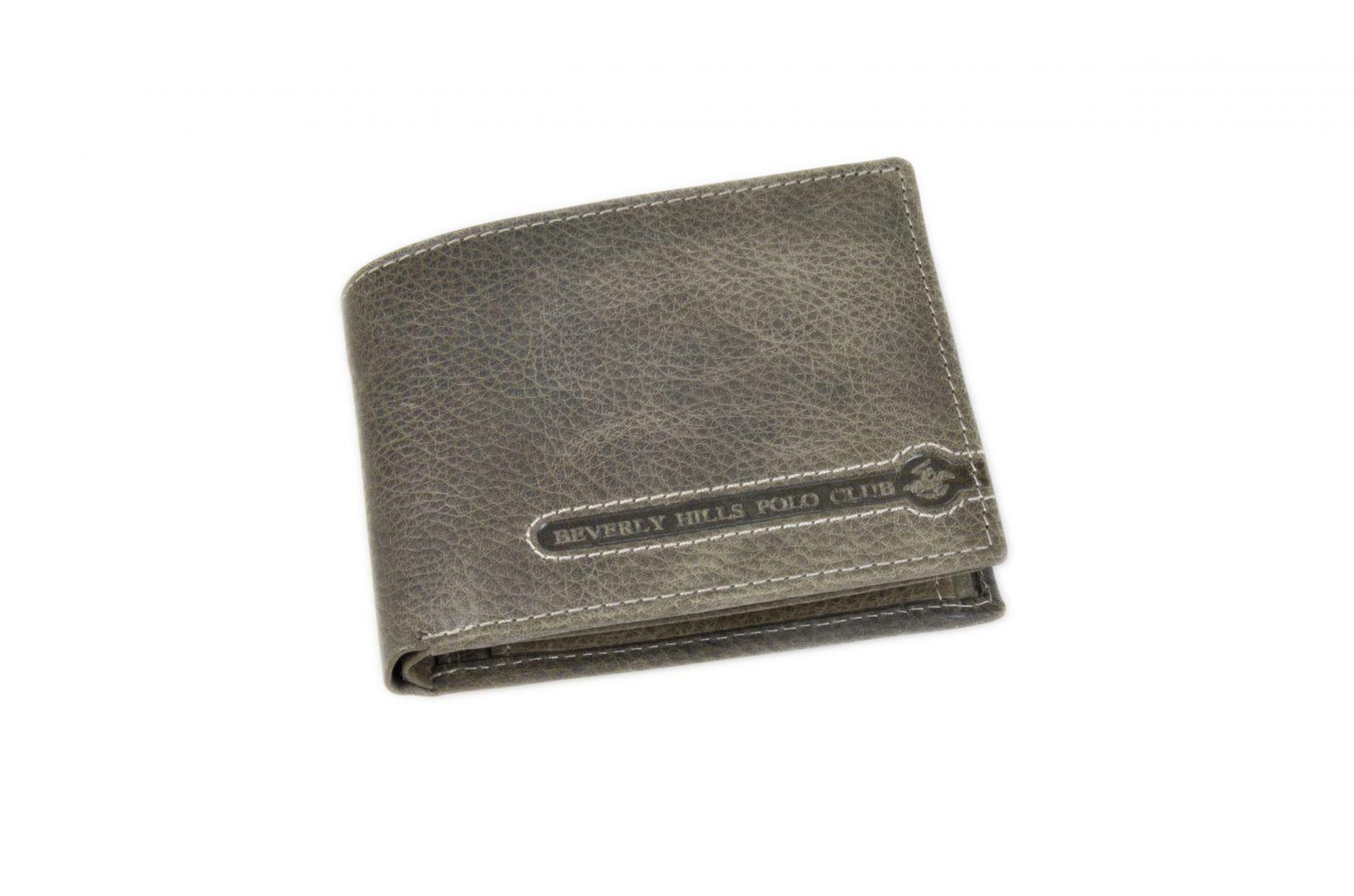 Peněženka pánská BHPC Tucson BH-393-23 antracitová v krabičce