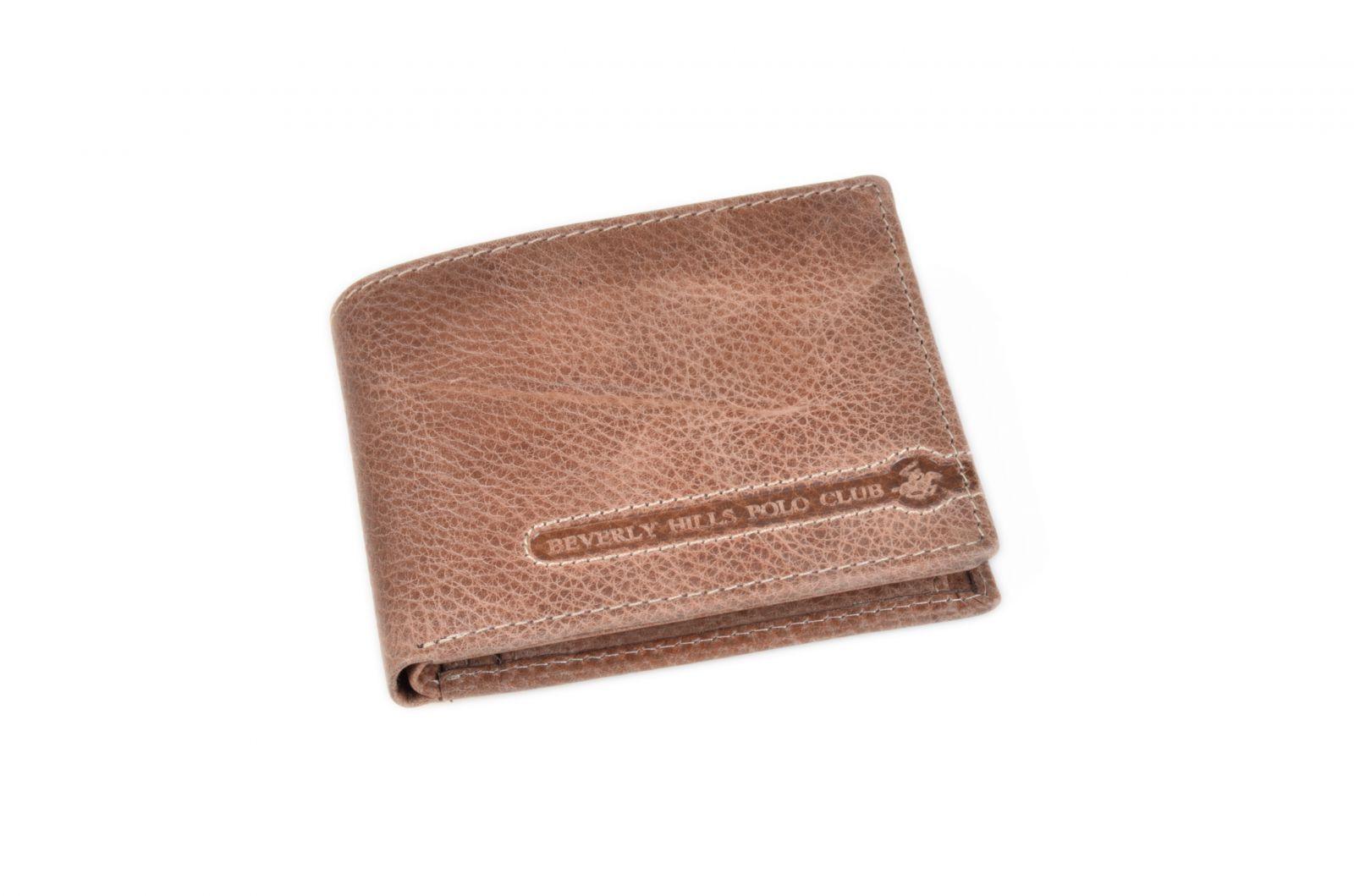 Peněženka pánská BHPC Tucson BH-393-25 hnědá v krabičce