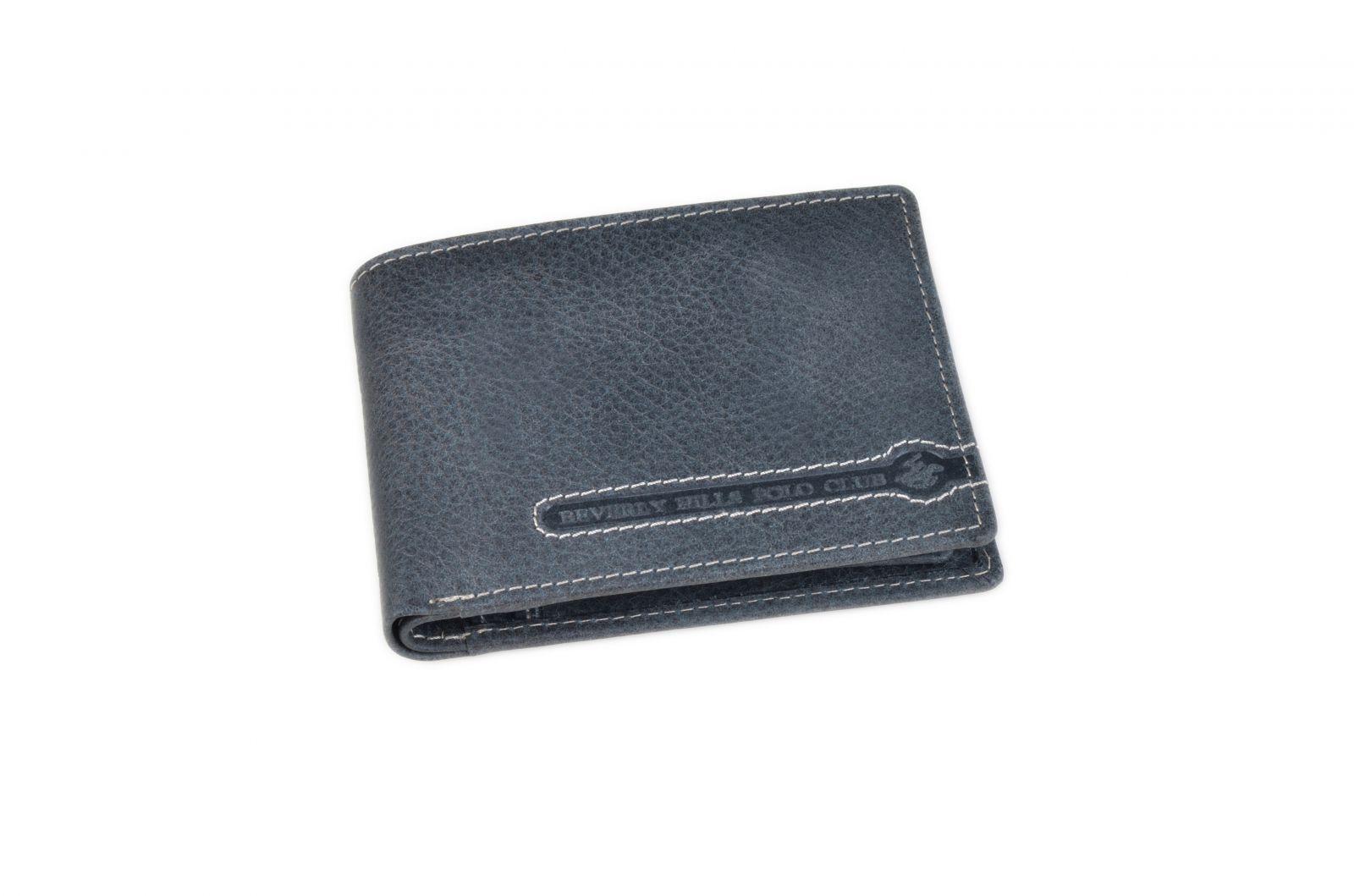 Peněženka pánská BHPC Tucson BH-394-05 modrá v krabičce