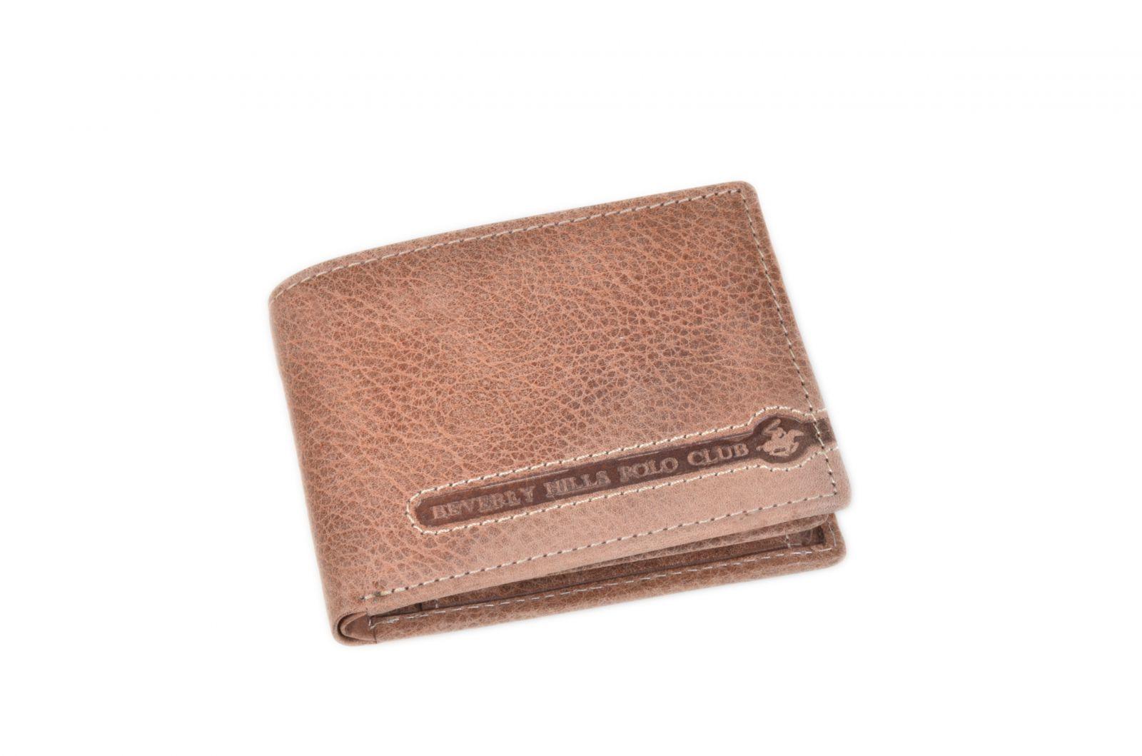 Peněženka pánská BHPC Tucson BH-394-25 hnědá v krabičce