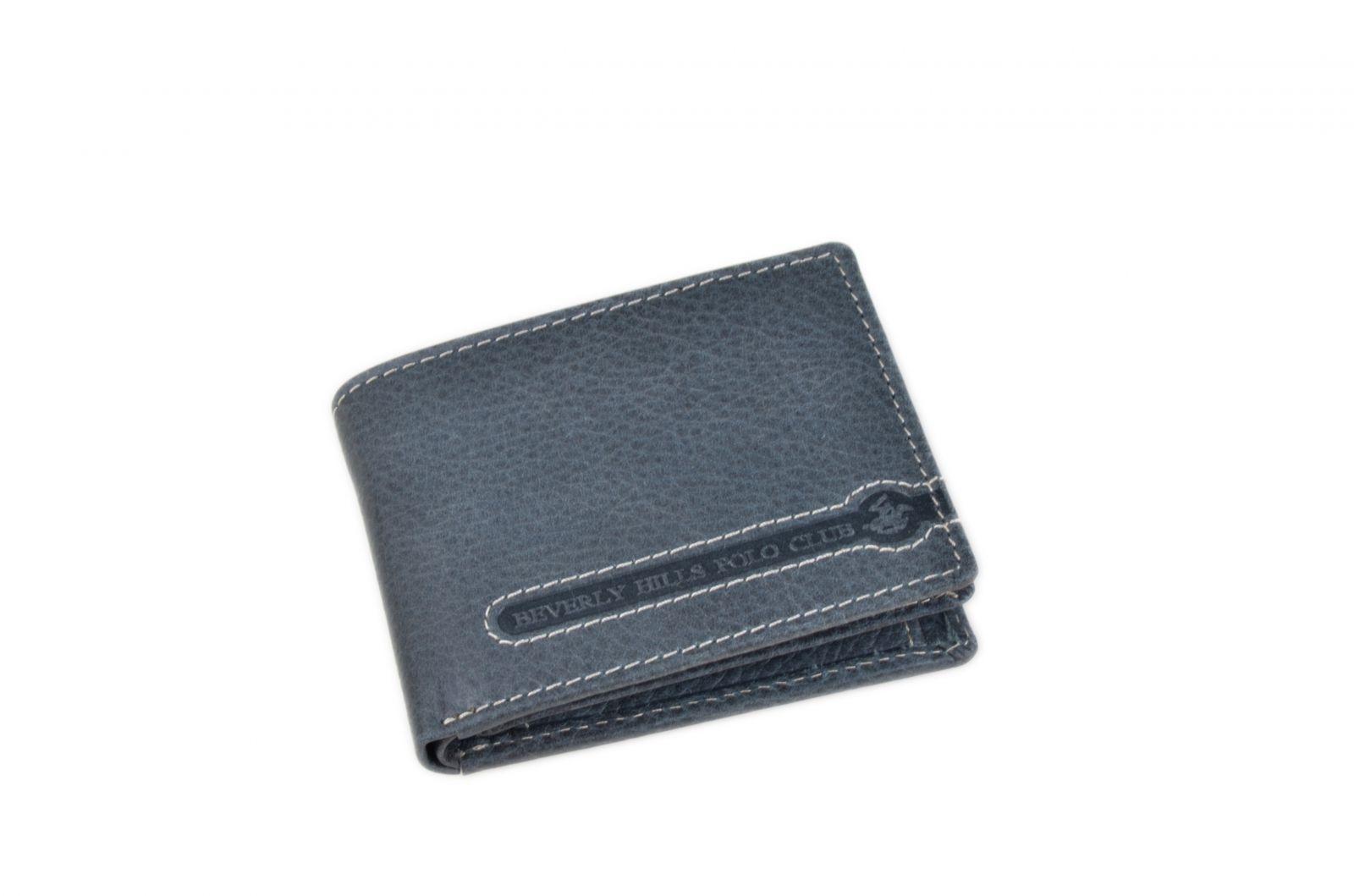 Peněženka pánská BHPC Tucson BH-395-05 modrá v krabičce