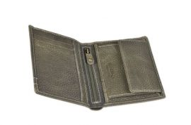 Peněženka pánská BHPC Tucson BH-396-23 antracitová v krabičce Beverly Hills E-batoh