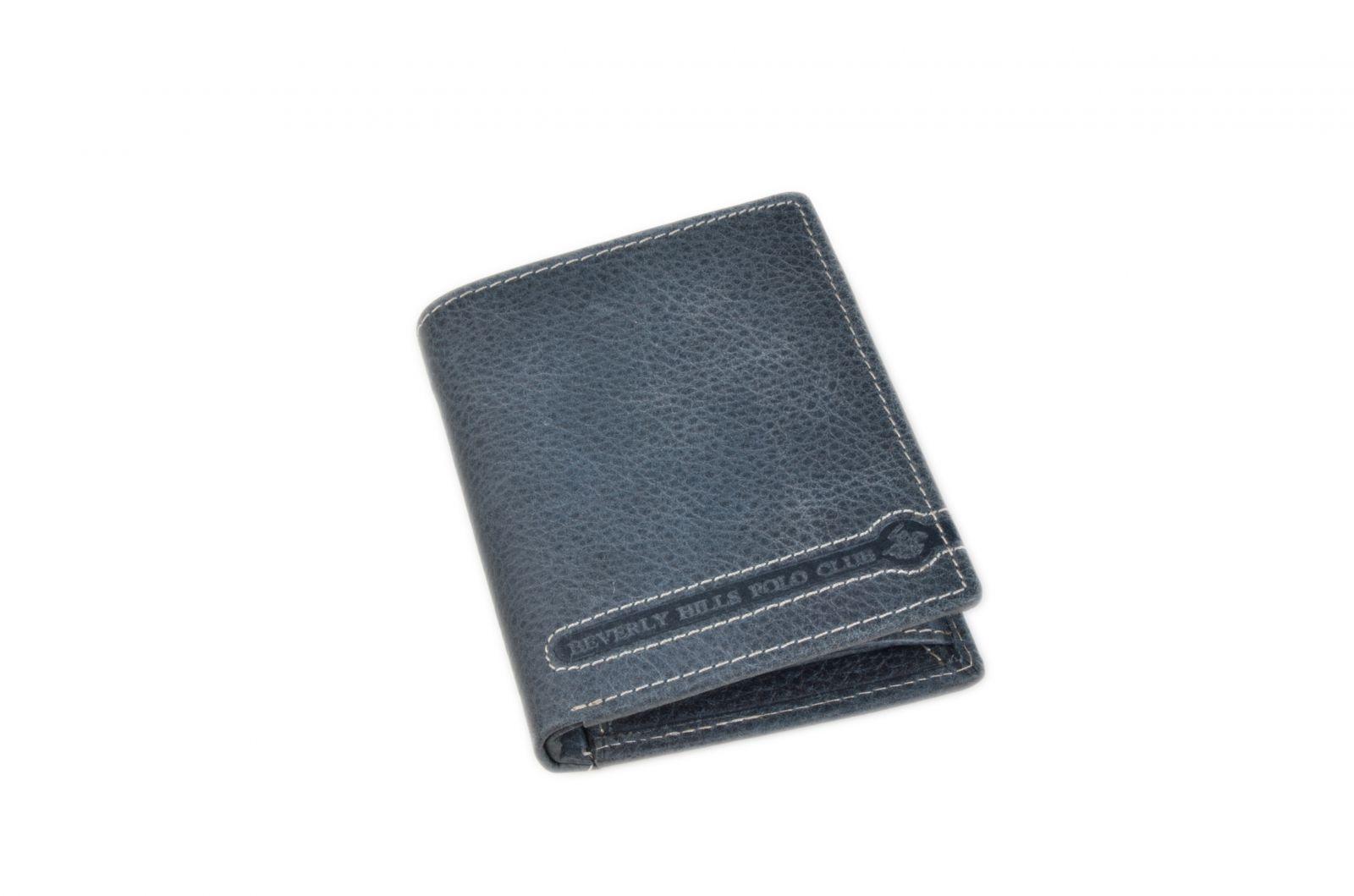 Peněženka pánská BHPC Tucson BH-396-05 modrá v krabičce