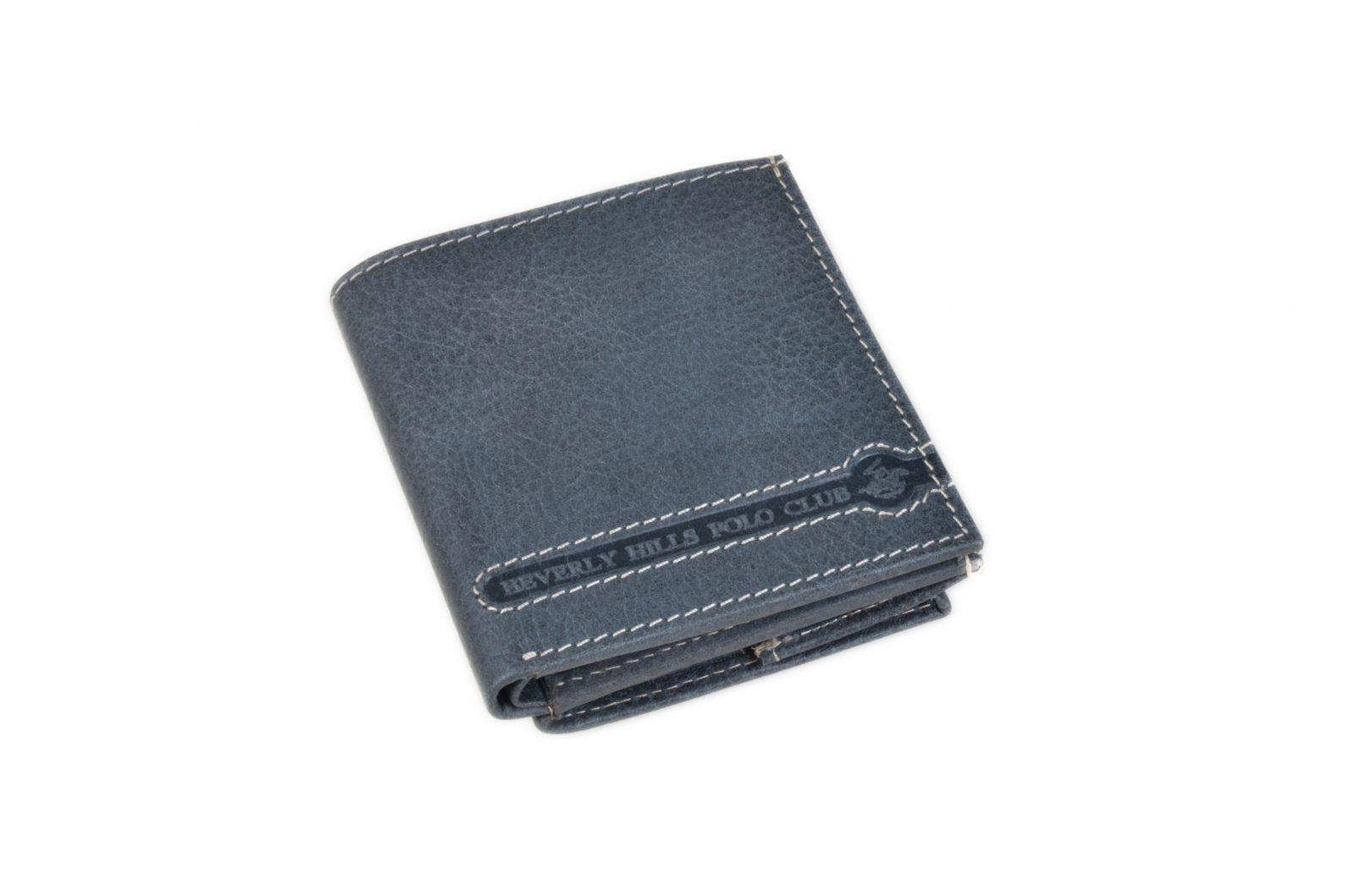 Peněženka pánská BHPC Tucson BH-397-05 modrá v krabičce