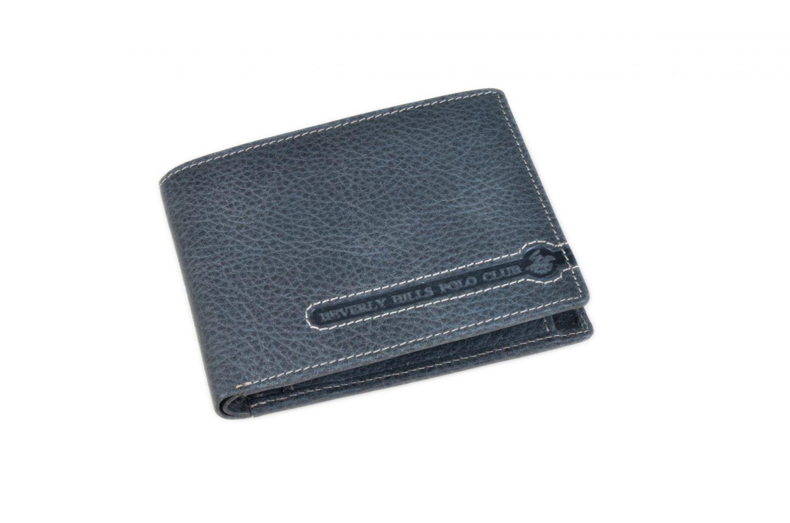 Peněženka pánská BHPC Tucson BH-392-05 modrá v krabičce