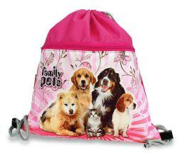 Školní sáček Family pets E-batoh