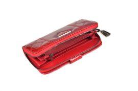 Dámská peněženka lakovaná ESLEE 6236 black E-batoh