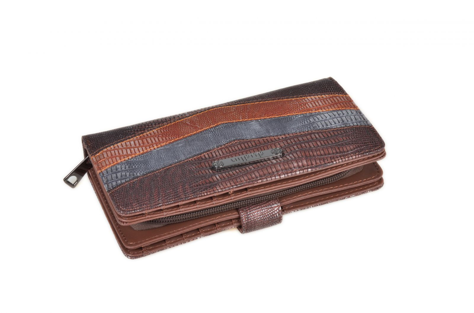 Dámská peněženka Dudlin v krabičce M286 coffee