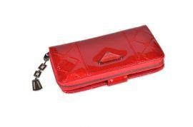 Dámská peněženka lakovaná ESLEE 6236 red E-batoh