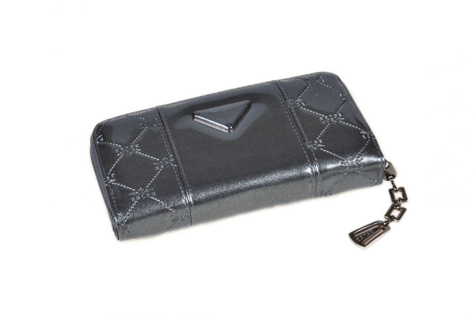 Dámská peněženka lakovaná ESLEE 6236 grey E-batoh