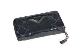 Dámská peněženka lakovaná ESLEE 6236 black