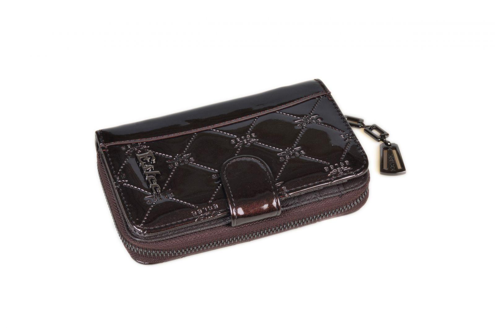 Dámská peněženka malá ESLEE 6233 brown E-batoh