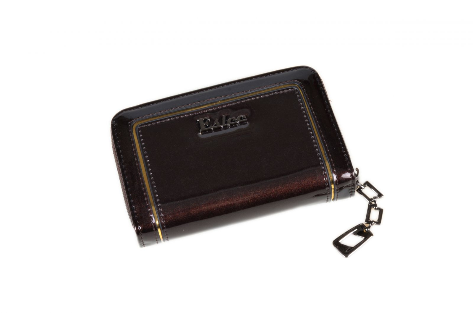 Dámská peněženka malá ESLEE F6873 coffee E-batoh