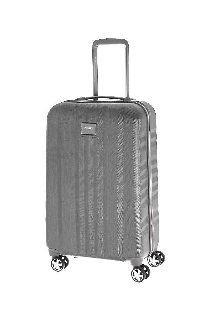 Extra lehký a odolný kufr v luxusním provedení na 4 kolečkách March New Carat S Gold brushed E-batoh