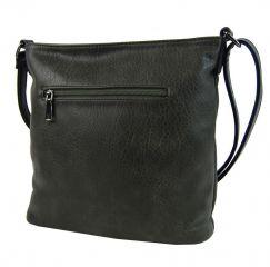 Dámská crossbody kabelka s čelní kroko kapsičkou F-014 zelená Sun-bags E-batoh