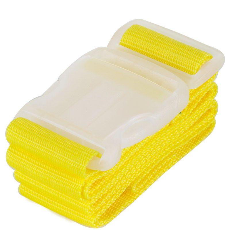 Bezpečnostní popruh na kufr ROCK TA-0013 - žlutá E-batoh