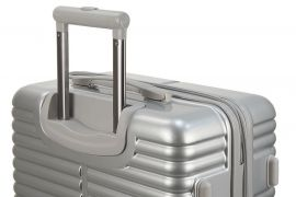 Cestovní kufr LYON malý - silver S Monopol E-batoh