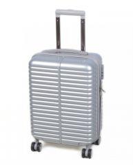 Cestovní kufr LYON malý - silver S