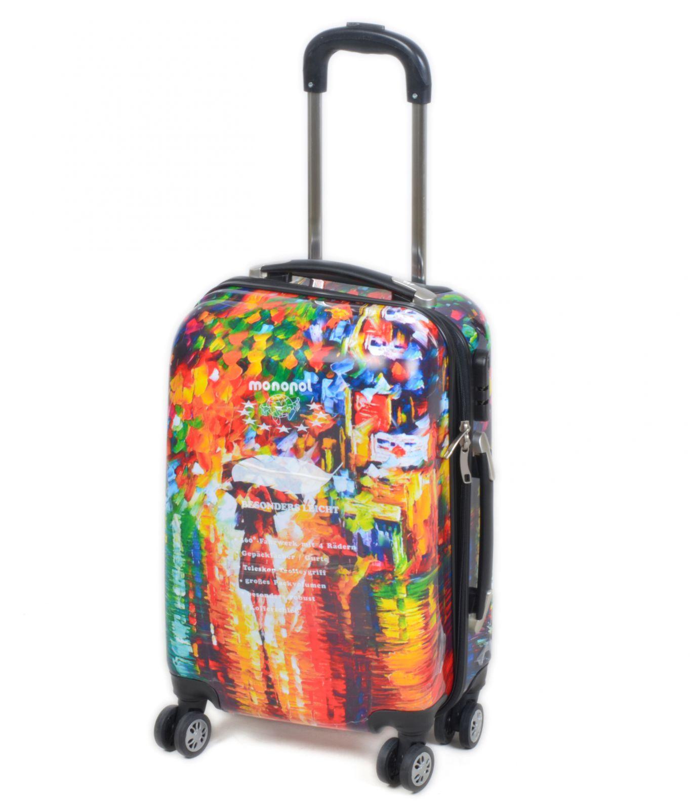 Cestovní kufr MONOPOL malý S E-batoh