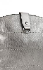 Malá dámská crossbody kabelka H17377 stříbrná Tapple E-batoh