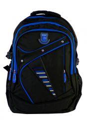 Větší batoh NEWBERRY do školy i na sportování L1911 černo-modrý