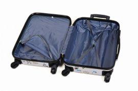 Cestovní kufry sada ABS POSTCARD TR-A29E E-batoh