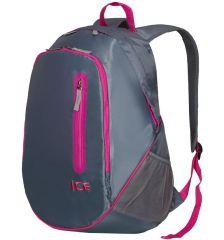 Batoh ICE 7562 - šedá/růžová