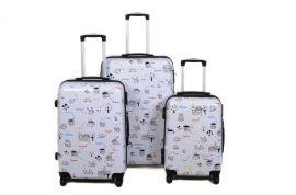 Cestovní kufry sada ABS JOTTER TR-A29E