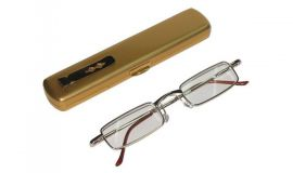 Dioptrické brýle KOKO 33R /  +1,25 s pérováním + pouzdro