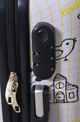 Cestovní kufr ABS JOTTER TR-A29E S E-batoh
