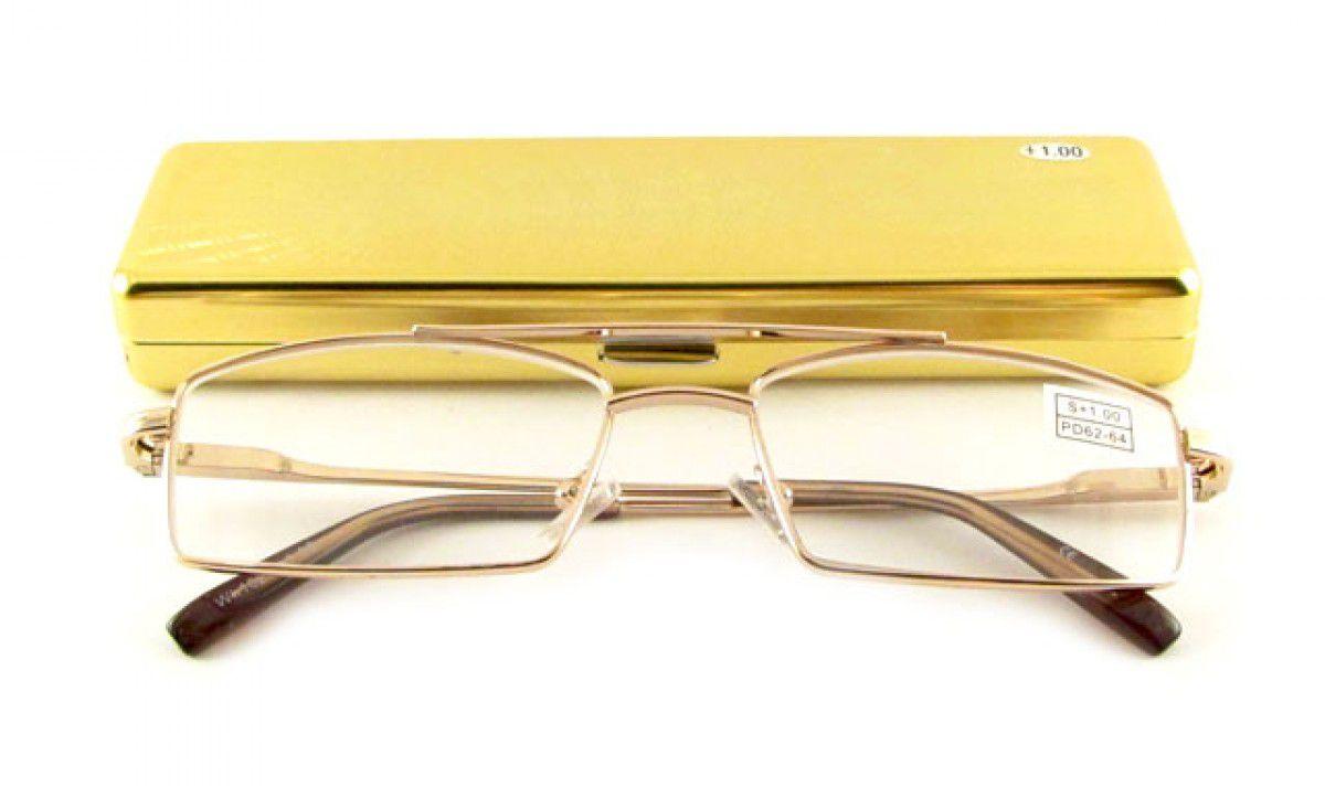 Dioptrické brýle Good Luck 1028-1 +1,50 s pérováním + pouzdro