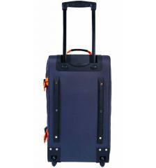 """Cestovní taška na kolečkách GEAR T-805/22"""" - černá/modrá E-batoh"""