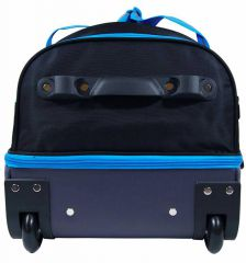 """Cestovní taška na kolečkách GEAR T-805/26"""" - černá/zelená E-batoh"""