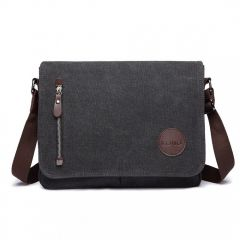 KONO pánská crossbody messenger taška E1824 černá