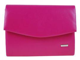 Luxusní sytě růžové matné dámské psaníčko SP132 GROSSO