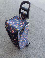Nákupní taška na kolečkách 1