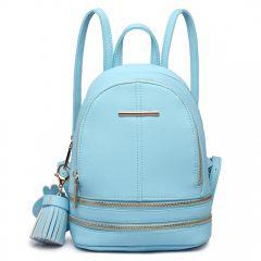 Roztomilý modrý designový dámský batůžek Miss Lulu