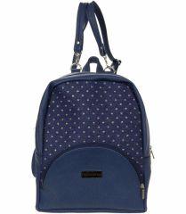 Elegantní dámský tmavě modrý batoh B01 GROSSO