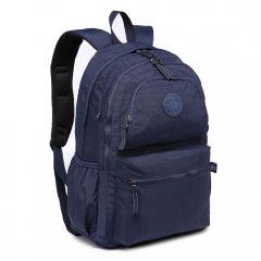 Kvalitní tmavě modrý batoh s vodoodpudivou úpravou Miss Lulu