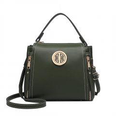 Malá zelená dámská moderní kabelka Miss Lulu