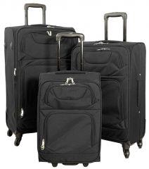 Cestovní kufr MONOPOL TAHITI černý S