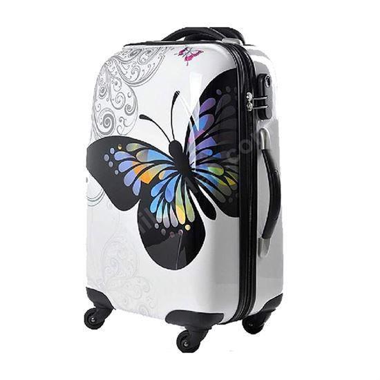 Cestovní kufr ABS MOTÝL TR-A29E L
