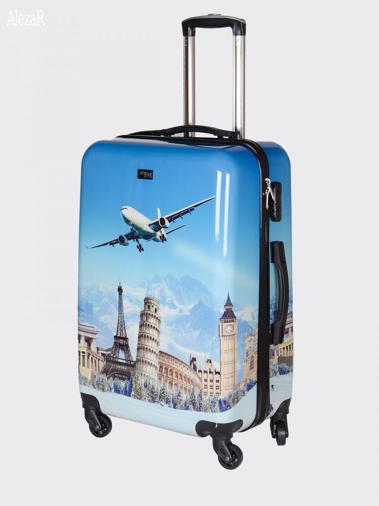 Cestovní kufr ABS LETADLO TR-A29E M E-batoh